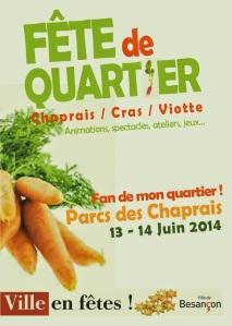 Affiche FDQ Chaperais 2014